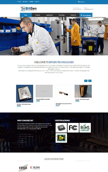 Portfolio analog co affortable website comapny 15