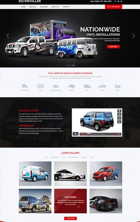 Portfolio analog co affortable website comapny 18