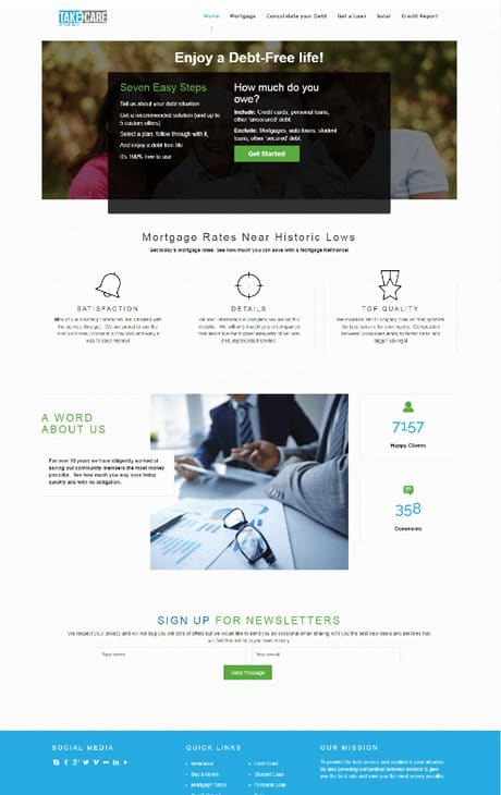 Portfolio analog co affortable website comapny 22