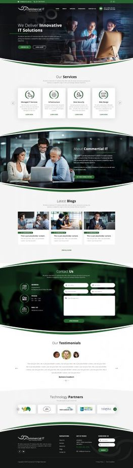 Portfolio analog co affortable website comapny 30