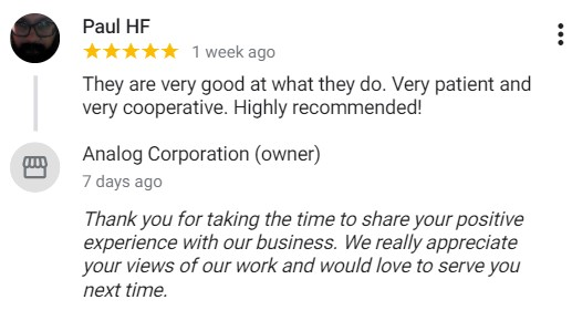 Analog-Corporation-Reviews-C